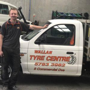 Mobile Roadside Tyre Repair Fitting